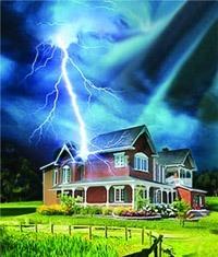 Молниезащита зданий, молниеприемник г.Нижний Тагил