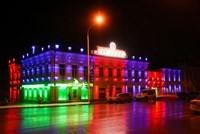 Наружное освещение: архитектурное освещение зданий, фасадов дома в Нижнем Тагиле